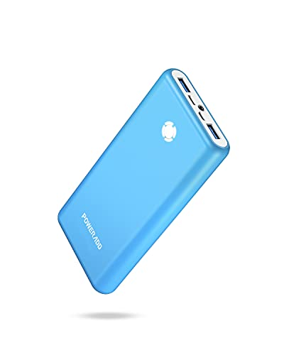 Pilot X7 Portable Charger,20000mAh 18W PD QC3.0 Fast Charging Power Bank,USB C Input/Output Battery Pack with LED Flashlight for iPhone,Samsung and More - Blue
