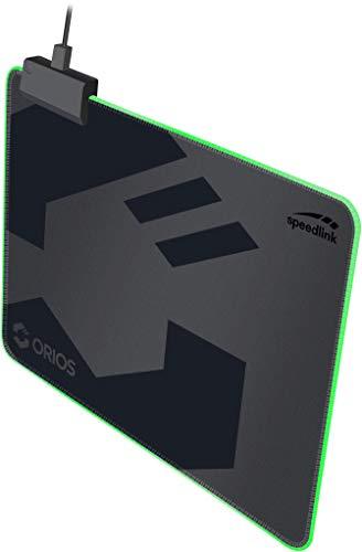 Orios LED Gaming Mousepad - Size m, Soft