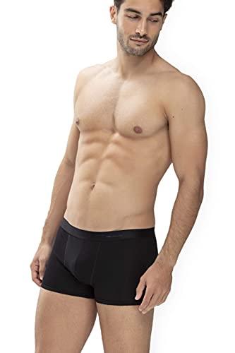 Mey Basics Serie Casual Cotton Herren Shorties Schwarz XL(7)