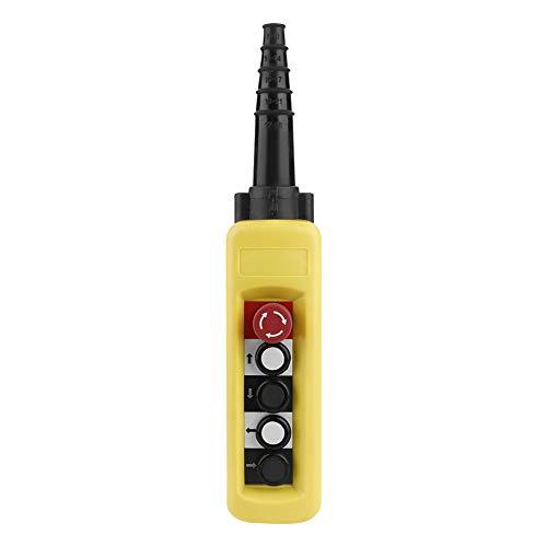 XAC-A4713 Crane Kettenzug Push-Control-Schalter Knopfschalter Heben Anhänger Controller 4 Tasten