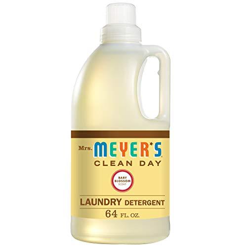 Mrs. Meyer's Laundry Detergent, Baby Blossom, 64 fl oz
