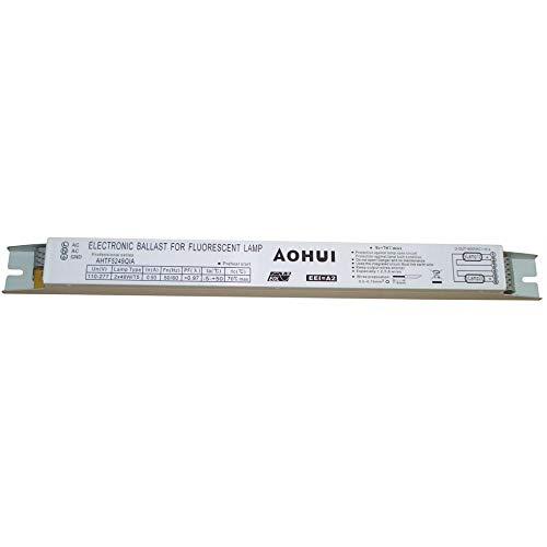 aoxinhui - Vorschaltgeräte in weiß, Größe 360x30x30mm