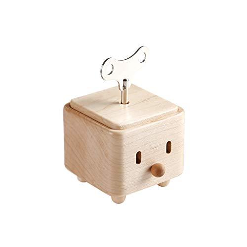 Cajas de música para adultos y niños, caja de música de madera para decoración de escritorio para niños, regalo de cumpleaños y Navidad para novia (color: 'City in the Sky', tamaño: X2)