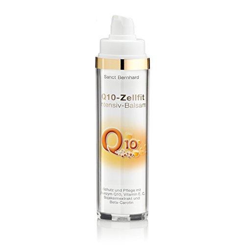 Q10 Zellfit Intensiv Balsam mit Q10, Vitamin E,C, Sojakeimextrakt, Beta-Carotin 50 ml