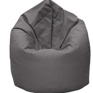 GiantBag Sitzsack Drope-Shape XL XXL XXXL Möbel Sessel Kissen In & Outdoor (XL, Anthrazit)