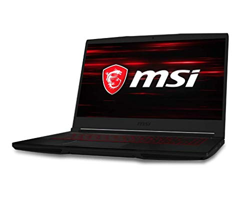 "MSI GF63 Thin 9SC-042ES - Ordenador portátil de 15.6"" FHD (Intel Core i7-9750H, 16 GB RAM, 256 GB SSD +1 TB, GeForce GTX 1650 MAX Q de 4 GB GDDR5, Windows 10 Home) - Teclado QWERTY Español"