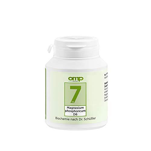 Schüssler Salz Nr. 7 Magnesium phosphoricum D6 | 400 Tabletten | Das Salz der Muskeln und Nerven | glutenfrei