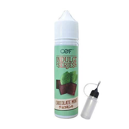 電子タバコ リキッド チョコミント味 Cloudy O Funky INDULGE SERIES CHOCOLATE MINT 60ml (チョコミント))