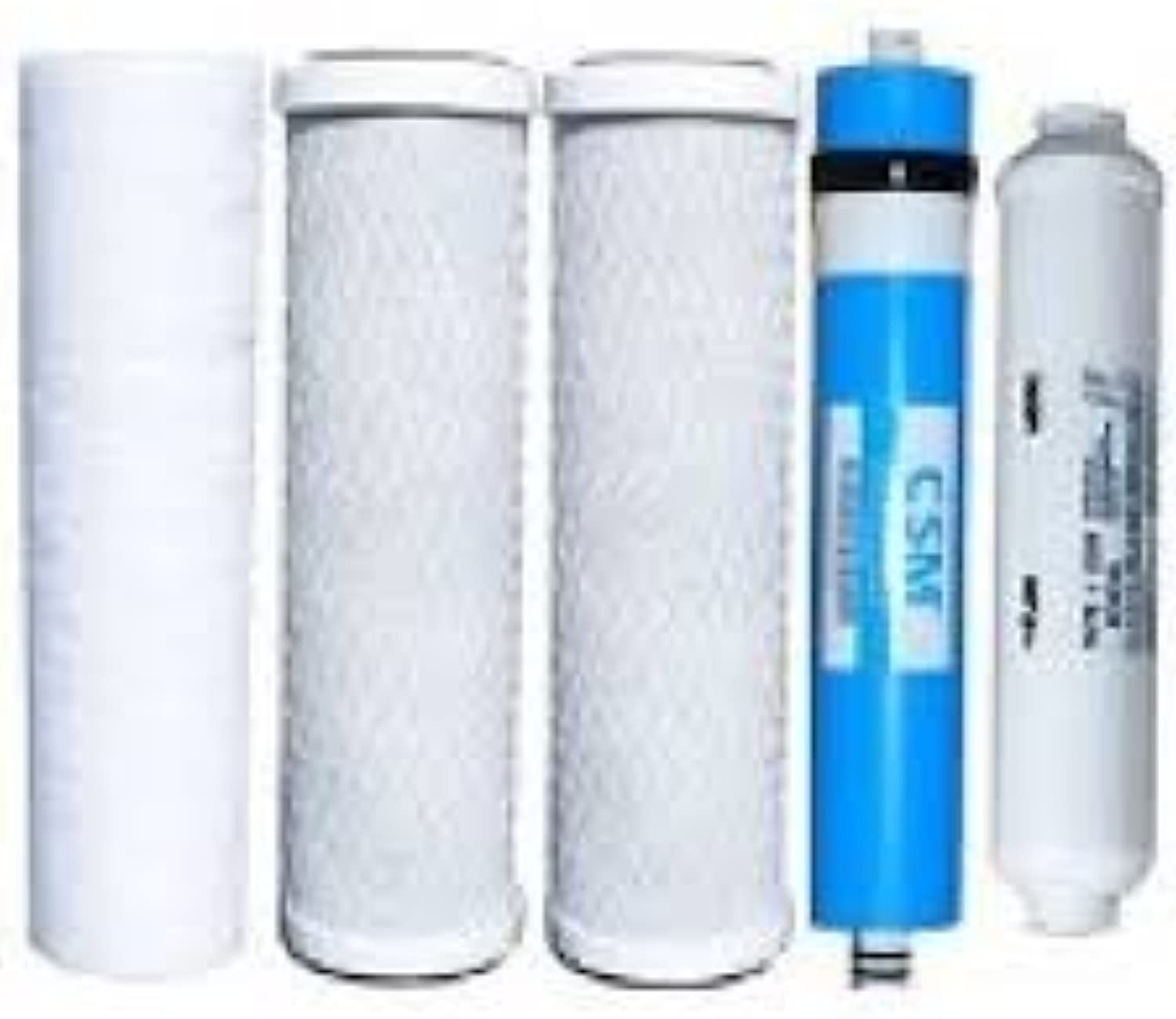 Compatible goldline 50 GPD Retro Fit Reverse Osmosis System Five filters and RO membrane included by CFS