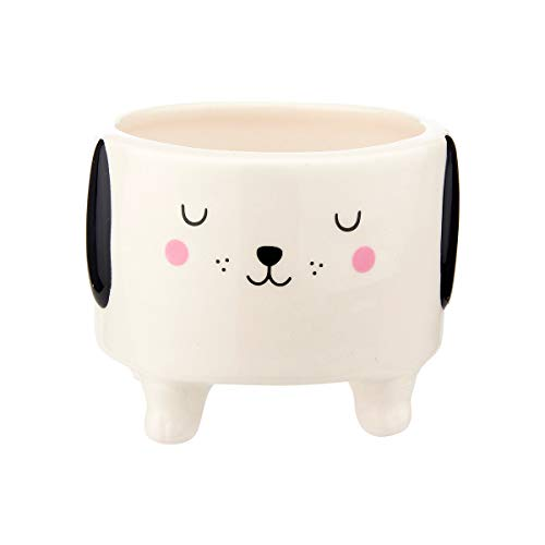 Barney the Dog Mini Pot Planter Simple Indoor House Flower Gift Kitchen Bedroom