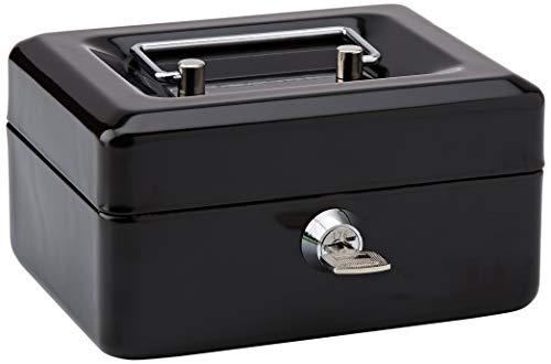 Rapesco SB0006B1 Caja fuerte portátil con portamonedas inte