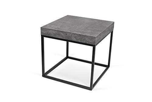TemaHome Petra 55 koffietafel/koffietafel/bijzettafel, 55 x 55 x 53 cm, zwart