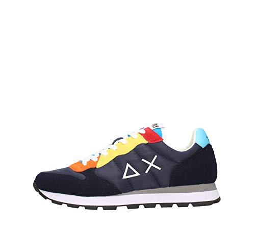 SUN 68 Sneakers Uomo Z31105 (Blu, Numeric_42)