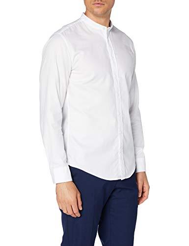 Seidensticker Herren Business Hemd - Bügelleichtes, schmales Hemd - Slim Fit - Langarm - Kent-Kragen - 100% Baumwolle