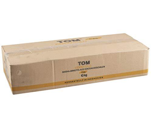 TOM COCO Gold C26 10kg   Shisha Kohle Naturkohle Cococha Kokoskohle