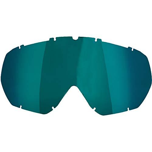 Broken Head Brillenglas für MX-Brille MX-2 (Grün-Blau verspiegelt)