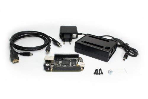 BeagleBone Black Starter Kit Bundle mit Beaglebone, Gehäuse, MAREL Steckernetzteil und MAREL HDMI Kabel