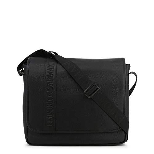 Emporio Armani - Bolso bandolera Hombre, color Negro, talla Einheitsgröße