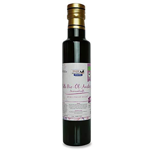 WachtelGold - Aceite orgánico para alimentar codornices y gallinas (250 ml)