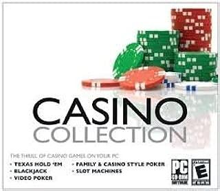 Casino Collection - PC CD-ROM Software - TX Hold Em', Video Poker, Slot Machines, Family & Casino-Style Poker, Video & Casin Blackjack, Keno - WIndows 2000, XP, Vista, 7