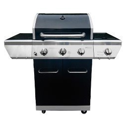 Barbecue gaz 3 feux + 1 feu latéral