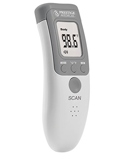 New Prestige Medical Infrared Forehead Thermometer, 1.25 Ounce