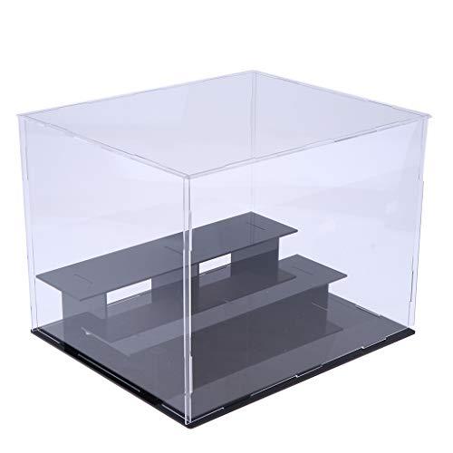 Non brand Sharplace Vetrina Antipolvere Show Box Cubo 23cm per Amiibo Funko Pop Action Figure