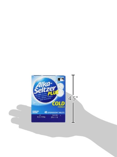 Alka-Seltzer Plus Cold Medicine, 48 Count