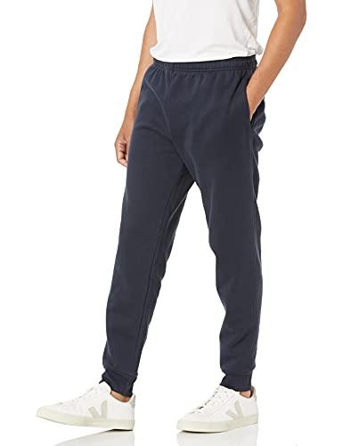 Amazon Essentials – Pantalón de chándal de forro polar para hombre, Azul (Navy), US XXL (EU XXXL - 4XL)