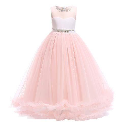 tiener meisje prinses jurken carnaval tule formele jurken elegante meisjes lange avond partij verjaardag trouwjurk bruidsmeisje kostuum kinderen tutu jurk bal jurk 5-15 jaar