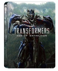Transformers: Age of Extinction Steelbook (Blu-ray + DVD)