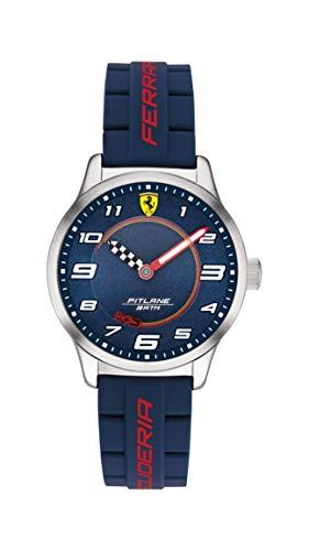 Scuderia Ferrari Reloj Analógico para Niños de Cuarzo con Correa en Silicona 0860015