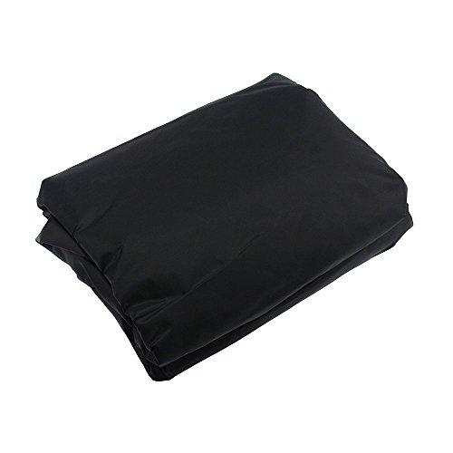 L-förmigen abdeckung lounge sofa - lounge abdeckung l-form mit Spannschnüren unten,210D abdeckplane für gartenmöbel L-Form schutzhüllen für gartenmöbel (L-Form 300x300x90 cm + Rechteck 155x95x68 cm) - 7