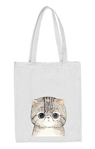 Black Temptation Reise-Einkaufstasche Sommer-Strand-Tasche mit Entzückende Katzen-Muster