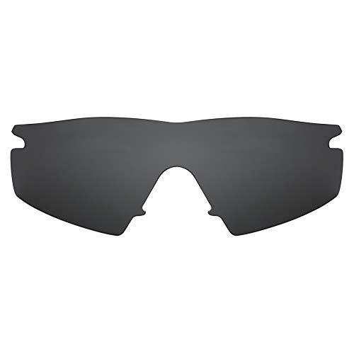 Revant Verres de Rechange Compatibles avec Oakley M Frame Strike, Polarisés, Noir Furtif