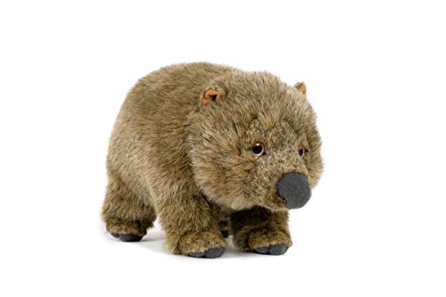Trigon Stofftier Wombat 28 cm, Kuscheltier Plüschtier Beuteltier Australien