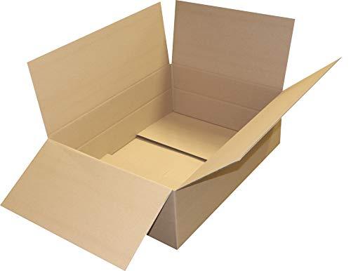 1 St. Versandkartons 800 x 600 x 260 mit Zusatzriller Versandverpackung 80 x 60 x 26 Faltschachtel, Box