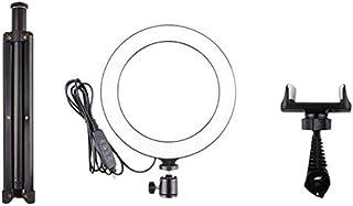 Gesh 10 Inches Selfie Led Licht Met Statief Stand En Mobiele Telefoon Houder Desktop Lamp Led Camera Licht Voor Youtube Vi...