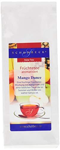 Schuhbeck Früchtetee - Mango Dance, 3er Pack (3 x 100 g)