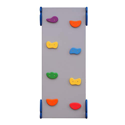 Ladder Board Baby Climber Wooden Toys Climbing Ladder Сlimbing Frame Wood Play Gym Pikler Climber Montessori Furniture Gray+Rainbow (RAMP ONLY Standard Size)
