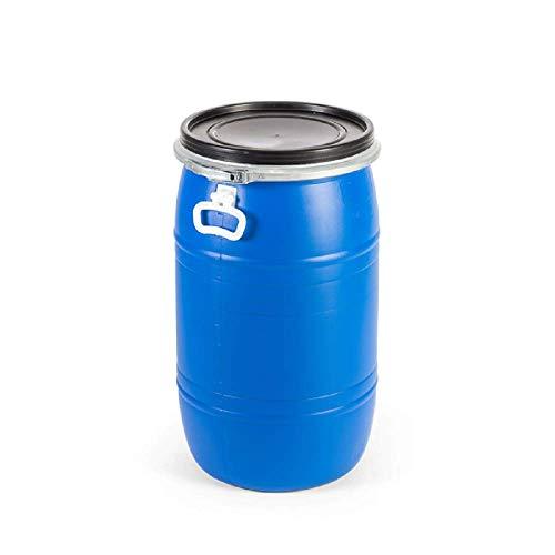 Bidón de plástico de 65 litros cierre Ballesta metálica