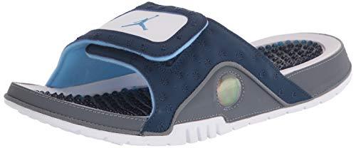 Air Jordan Hydro (Navy/University Blue/Flint Grey/White, Numeric_10)