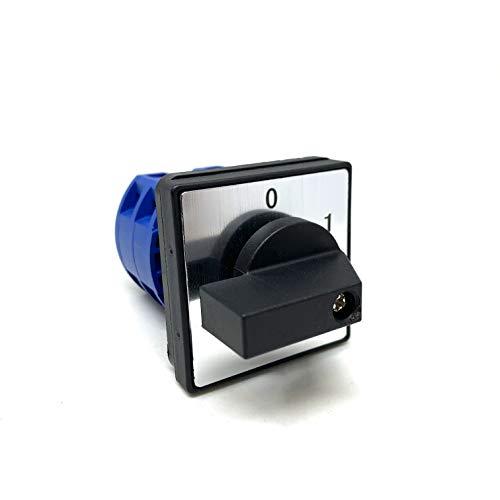 Interruptor rotativo de levas (4 polos 25 A)