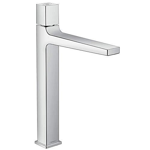 hansgrohe Wasserhan Metropol Select (Armatur mit Auslauf Höhe 260 mm und Push-Open Ablaufgarnitur) Chrom