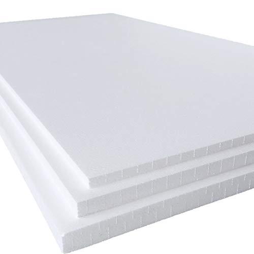 発泡スチロール 板 断熱材 中硬さ 4枚 1830×925×30mm 白色