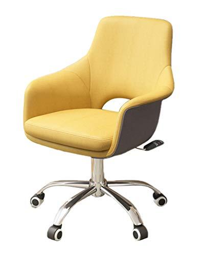 Fauteuil pivotant Chaise d'ordinateur Les chaises de bureau avec roues coussin de siège épais améliorent la posture maintenant et la douleur au cou pour les adultes et les enfants Ergonomique Chais
