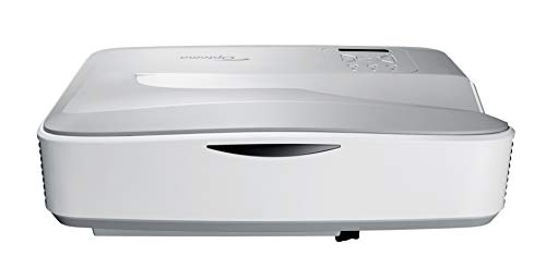 Optoma HZ40UST 1080p Laser Ultra Short Throw Projector - White