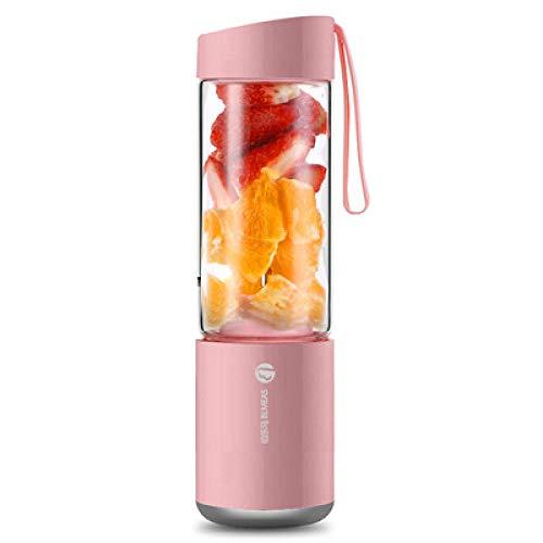 Libre de BPA Licuadora Portátil,Exprimidor USB Recargable, Mini exprimidor Multifuncional, Taza Individual en Polvo,Verdura, Smoothies Recargable Batidoras