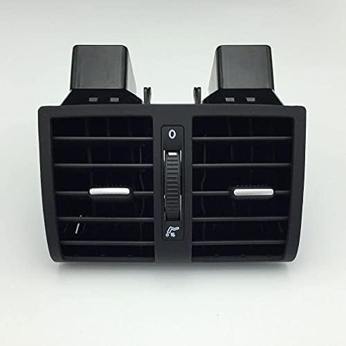 AIOFOGXC Caja Trasera de Aire de Aire Box Armet Caja de Aire Asiento Trasero Aire Acondicionado Outlet de Aire Trasero/Ajuste para Volkswagen Touran Accesorios para automóviles (Color Name : Black)