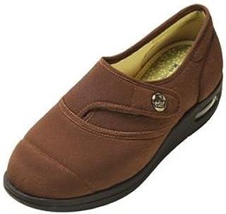 マリアンヌ製靴 彩彩~ちりめん~ W1100 婦人用 /24.5cm ブラウン